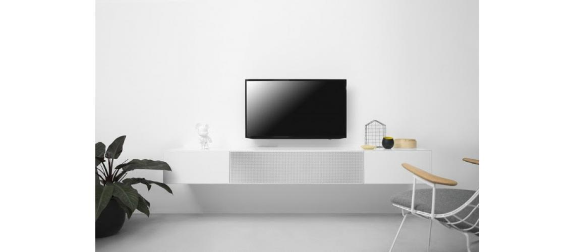 tv-meubel met mediafront Vision Pastoe