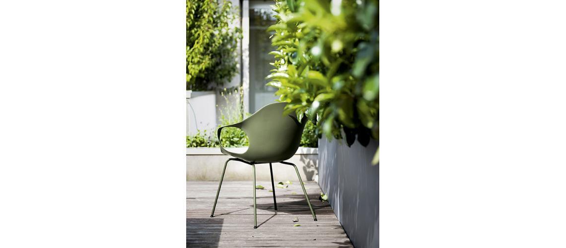 Elephant chair outdoor Kristalia